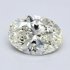 推荐宝石 2:1.00克拉椭圆形切割钻石