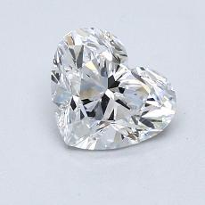 Recommended Stone #1: 1.14-Carat Heart Cut Diamond