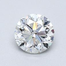 1.00-Carat Round Diamond Good D SI2