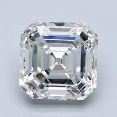 2.00 Carat 上丁方形 Diamond 非常好 H VS1