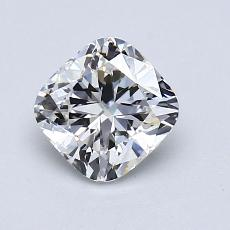 1.04-Carat Cushion Diamond Very Good G VVS1