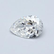 0.50 Carat 梨形 Diamond 非常好 D VVS2