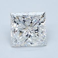 Recommended Stone #4: 1,70-Carat Princess Cut Diamond