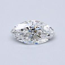 Recommended Stone #2: 0.42-Carat Marquise Cut Diamond