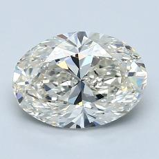 Recommended Stone #3: 1,80-Carat Oval Cut Diamond