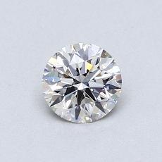 0.51 Carat 圆形 Diamond 理想 G VVS1