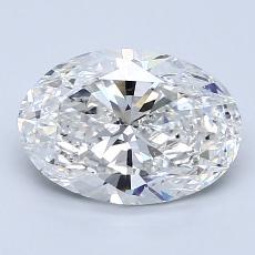 1.71-Carat Oval Diamond Very Good G SI1