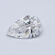 Recommended Stone #2: 0.55-Carat Pear Cut Diamond