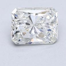 1,96-Carat Radiant Diamond Very Good H VS1