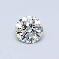 推荐宝石 1:0.51 克拉圆形切割