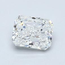 1.05-Carat Radiant Diamond Very Good F VS1