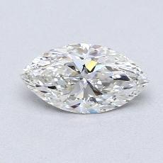 0.75-Carat Marquise Diamond Very Good H IF