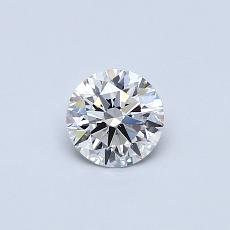 推薦鑽石 #2: 0.42 克拉圓形切割鑽石