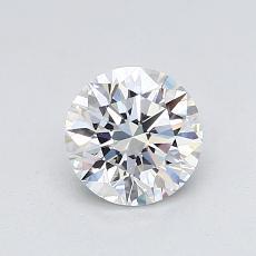 0.78 Carat 圆形 Diamond 理想 E VVS1