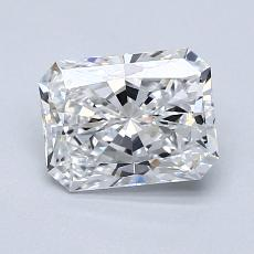 Recommended Stone #1: 1.22-Carat Radiant Cut Diamond