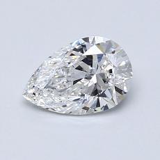 0.70 Carat 梨形 Diamond 非常好 D VS2