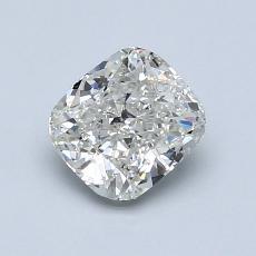 1.00 Carat 垫形 Diamond 非常好 J SI2