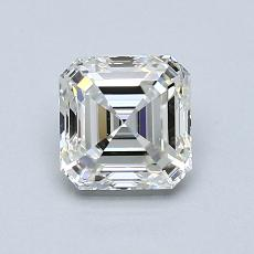 Recommended Stone #2: 1.03-Carat Asscher Cut Diamond