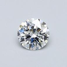 Recommended Stone #3: 0,52-Carat Round Cut Diamond