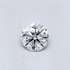 0.31 Carat 圆形 Diamond 理想 G SI2