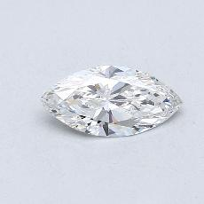 0,30-Carat Marquise Diamond Very Good F VS1
