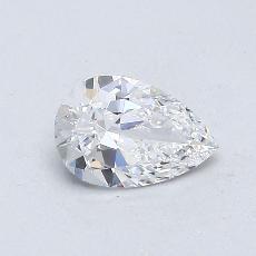0.45 Carat Pera Diamond Muy buena D VS2