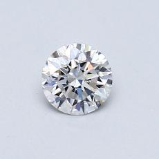 0.41 Carat 圓形 Diamond 理想 E VS1