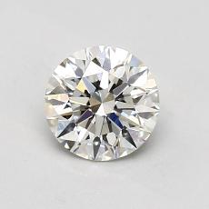 0.80 Carat 圓形 Diamond 理想 I VS1