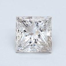 Recommended Stone #4: 1.01-Carat Princess Cut Diamond