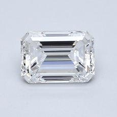 Recommended Stone #1: 1.00-Carat Emerald Cut Diamond