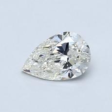 0.50 Carat 梨形 Diamond 非常好 J VS2
