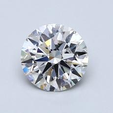 1.01-Carat Round Diamond Ideal G SI1