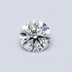 Recommended Stone #1: 0.42-Carat Round Cut Diamond