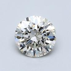 1.01-Carat Round Diamond Ideal K SI2