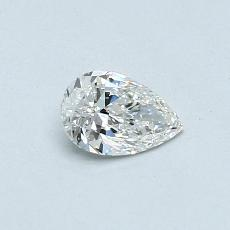 0.30-Carat Pear Diamond Very Good G VVS1