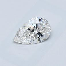 Recommended Stone #2: 0.60-Carat Pear Cut Diamond