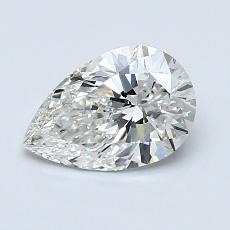 1.01 Carat 梨形 Diamond 非常好 H VS2