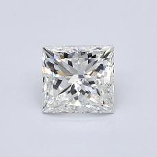 Recommended Stone #1: 0.75-Carat Princess Cut Diamond