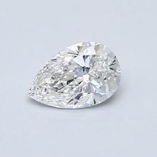 推薦鑽石 #1: 0.50 克拉梨形鑽石