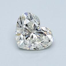 1,01 Carat Coeur Diamond Très bonne J VS2