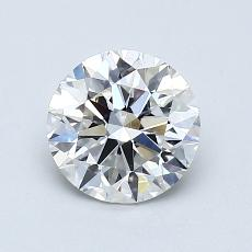 1,01 Carat Rond Diamond Idéale F VS2