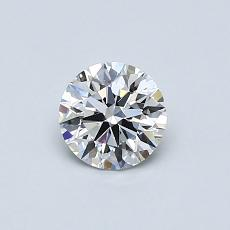 Recommended Stone #1: 0,51-Carat Round Cut Diamond