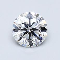 1.01 Carat 圓形 Diamond 理想 D VVS2