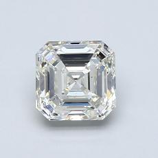 Piedra recomendada 3: Diamante de talla Asscher de 1.07 quilates