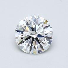 0.73 Carat 圆形 Diamond 理想 E VVS2