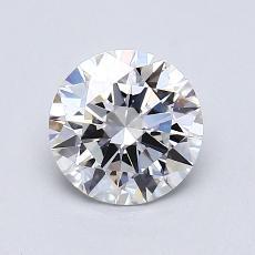 1.02-Carat Round Diamond Ideal G VVS2