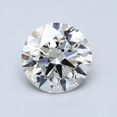1.11-Carat Round Diamond Ideal I VS2