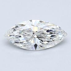 Recommended Stone #2: 0,70-Carat Marquise Cut Diamond