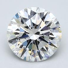 2.01-Carat Round Diamond Ideal G VS1
