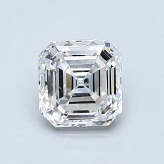 Recommended Stone #4: 1.00-Carat Asscher Cut Diamond
